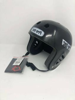 pro tec skateboard helmet black full cut