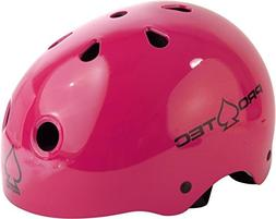 "ProTec Classic Gloss Pink Skate Helmet - Small / 21.3"" - 22"""