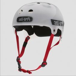 PROTEC - Lasek Trans WHITE Helmet - MEDIUM