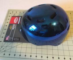 Bell Psycho Child Multisport Helmet Glossy Blue Ages 5-8 scu