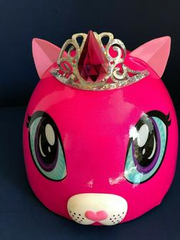 Raskullz 3D Child Helmet Duchess Meow, Age 5-8, New