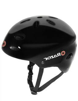 Razor V17 Multi Sport Youth Bike Helmet With Adjustable Stra