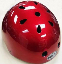 RED Kids Bicycle Helmet S/M/L Cycling Skateboard Scooter Pro