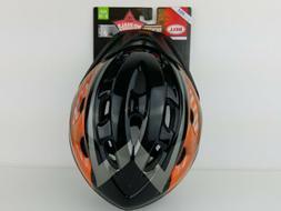 Richter Youth Helmet, Black & Orange Rooster