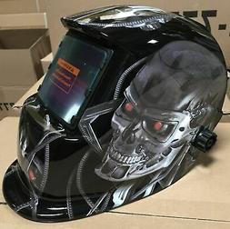 KRK Auto Darkening Welding/grinding  Helmet  w/ sensitive &