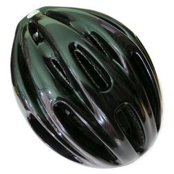 ProRider S/M 21 1/4''- 22 1/2 Bike Helmet Solid Black Foam P