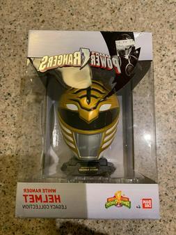 Bandai Saban's Power Rangers WHITE Ranger Helmet Legacy Coll