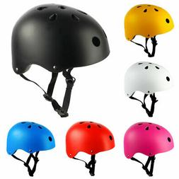 Safety Kids Helmet Bike Bicycle Skateboard Scooter Boys Girl