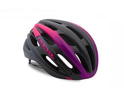 Giro Saga Bike Helmet - Women's Matte Black/Bright Pink Smal