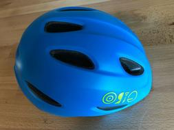 Giro Scamp Helmet - Kid's Matte Blue/Lime X-Small