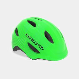 Giro Scamp Youth Bike Helmet Green/Lime Lines XS