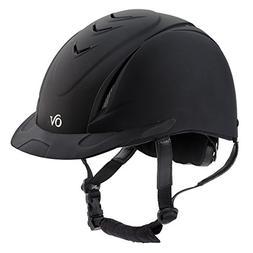 schooler deluxe riding helmet black
