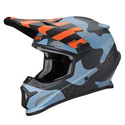 Thor Sector Mosser MX Helmet Small Blue Camo