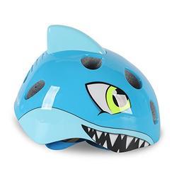Afuraes Shark Kids Helmet Toddler Bicycle Helmet Safety Chil
