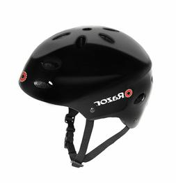 *Shelf Wear* Razor V-17 Youth Multi-Sport Helmet, Gloss Blac