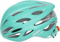 Critical Cycles Silas Bike Helmet with LED Safety Light Adju