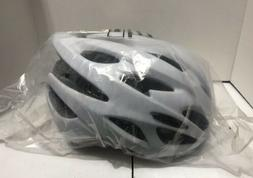 Critical Cycles Silas Bike Helmet with LED Safety Light -Whi