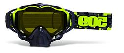 509 Sinister X5 Goggle- Lime Camo Polarized Lens