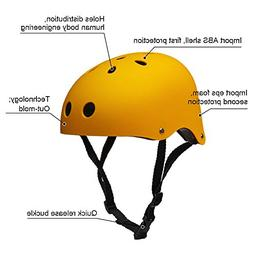 Adult Skateboard Helmet 11-Vents Adjustable Straps Protectiv