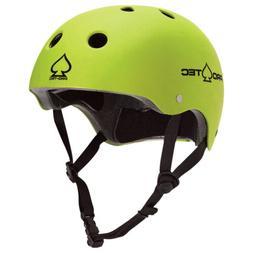 PRO TEC Skateboard Helmet CERTIFIED THE CLASSIC Satin Citrus