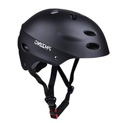 PHZING Skateboard Helmet CPSC Certified with Adjustable Syst