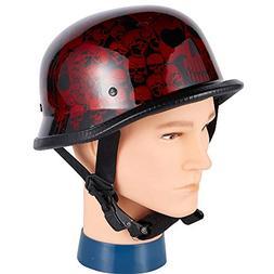 Dream Apparel Skateboard Adult Helmet, Motorcycle Helmet Bur