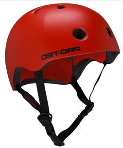 Pro Tec Skateboard Helmet STREET LITE  SATIN BLOOD ORANGE