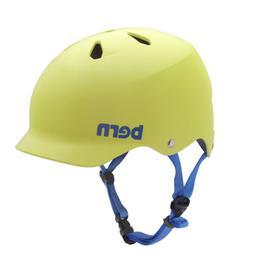 BERN Skateboard Helmet WATTS HARDHAT MATTE NEON YELLOW Size
