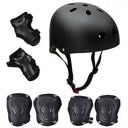 Skateboard / Skate Protection Pads Set with Helmet--SymbolLi