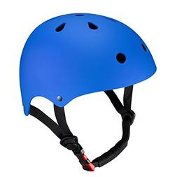KUYOU Kid's Skateboarding Helmet,Ultimate Adjustable ABS She
