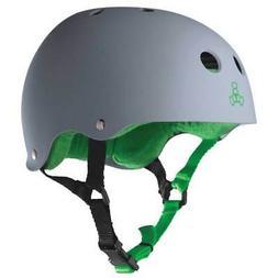 Triple 8 Skater Hardened Skate Bike Scooter Safety Helmet wi