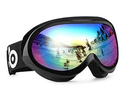 Odoland Ski Goggles for Youth Age 8-16 – UV400 Protection