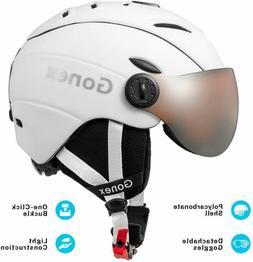 Gonex Ski Snowboard Snow Sport Helmet Goggles Head Protector