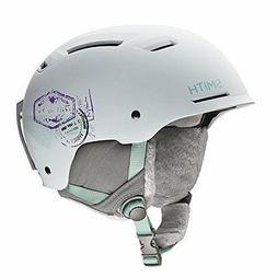 Ski Snowmobile Helmet, Wht Matte 13Vents Lock EPP Liner, For
