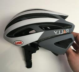 Small Bell Z20 MIPS White Gray Rally Cycling Road Bike Helme