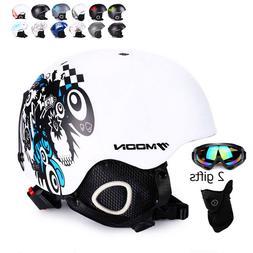 Snowboard Helmet Ski Goggles Winter Sport Adult Safety Equip