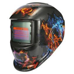 Solar Energy Automatic Changing Light Welding Mask Helmet w/