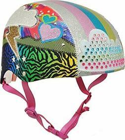 Raskullz Sparklez Loud Cloud Bike Helmet, Youth