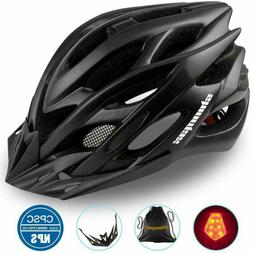 Specialized Bike Helmet with Helmet Accessories-LED Light/Po