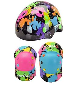 Razor Splatter Children's Multi-Sport Helmet and Elbow Pad S