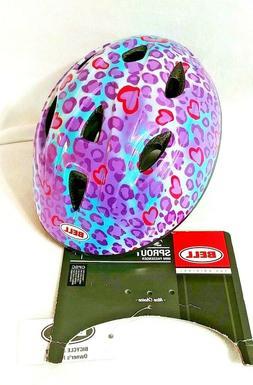 Padded Orange  For 47-52cm Head Sizes Bell Infant Toddler Bike Bicycle Helmet