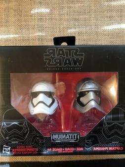 Star Wars Black Series Titanium Helmets 02 Captain Phasma an