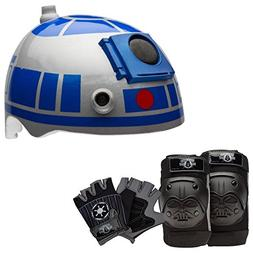 Star Wars R2-D2 Skate / Bike Helmet with Darth Vader Pads an
