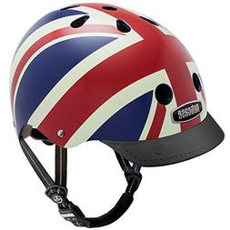 Nutcase - Patterned Street Bike Helmet for Adults, Union Jac