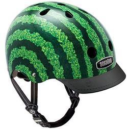 Nutcase - Patterned Street Bike Helmet for Adults, Watermelo