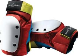 Pro-Tec Street Knee Pads  Retro Red/Blue/Yellow