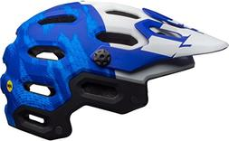 Bell Super 3 MIPS Helmet - Men's Matte Force Blue/White, L