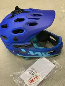 Bell Super 3r Mips Adult Mountain Bike Helmet,Matte Blues, M