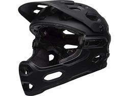 Bell Super 3R Mips Matte Black Mountain Bike Helmet Size Lar