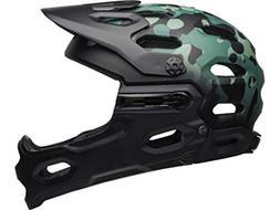 Bell Super 3R Mips Oak Matte Black Greens Mountain Bike Helm